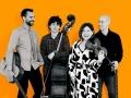 The Schmoozenbergs Music photography47070 - Black & white & Orange